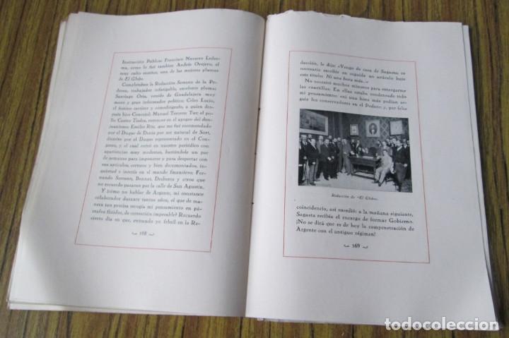Libros antiguos: NOTAS DE UNA VIDA 1868 – 1901 Conde de Romanones Tomó primero - Foto 3 - 150316198