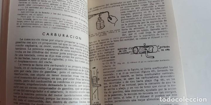 Libros antiguos: guion para los cursos de conductores y motoristas. ministerio del ejercito, 1969- - Foto 5 - 150368586