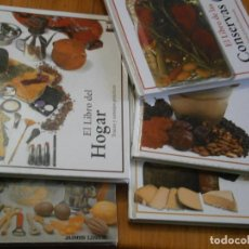 Libros antiguos: ¡¡PRECIOSO LOTE DE LIBROS¡¡DE COCINA¡. Lote 150525354