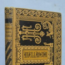 Livros antigos: 1884.- DON QUIJOTE DE LA MANCHA. ALONSO FERNANDEZ DE AVELLANEDA. Lote 150684654