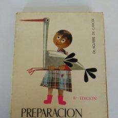 Libros antiguos: LIBRO PREPARACIÓN AL PARTO, AGUIRRE DE CARCER. Lote 150688022