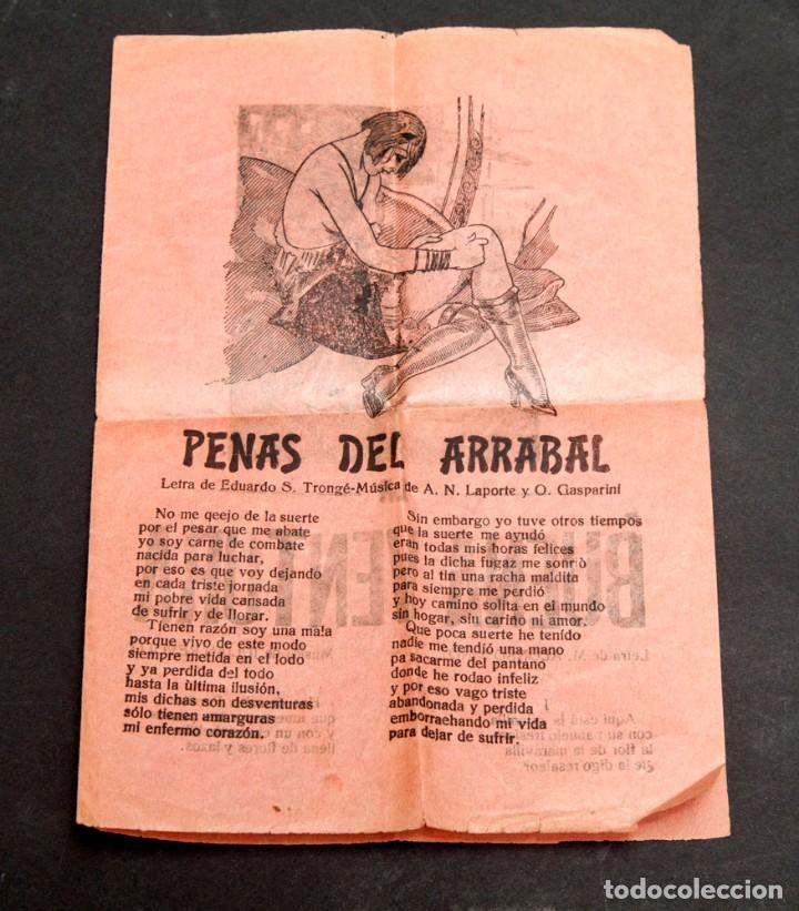 PENAS DEL ARRABAL - EROSTISMO - EROTICA - SICALIPTICA (Libros antiguos (hasta 1936), raros y curiosos - Literatura - Narrativa - Otros)