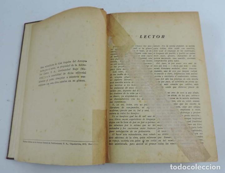 Libros antiguos: LIBRO DE LOS ANGELES DEL ARROYO, AUTOR LUIS DEL VAL, FOLLETIN EL HOGAR Y LA MODA, ED. CASTRO, MADRID - Foto 3 - 150943074