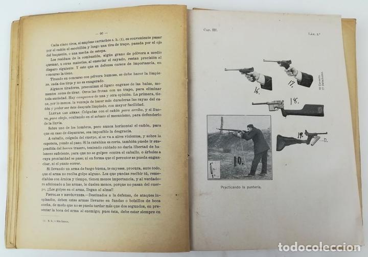 Libros antiguos: ARMAS Y DEFENSA. D.A. VÁZQUEZ DE ALDANA. IMPRENTA JULIÁN PALACIOS. 1916 MADRID - Foto 5 - 150950766