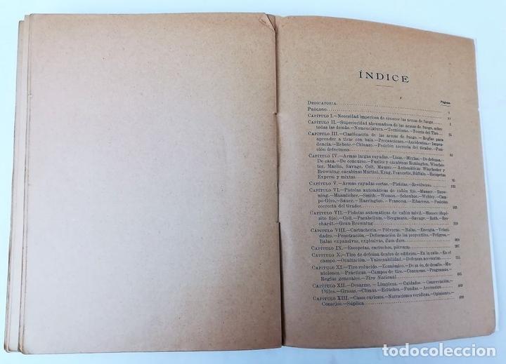 Libros antiguos: ARMAS Y DEFENSA. D.A. VÁZQUEZ DE ALDANA. IMPRENTA JULIÁN PALACIOS. 1916 MADRID - Foto 7 - 150950766