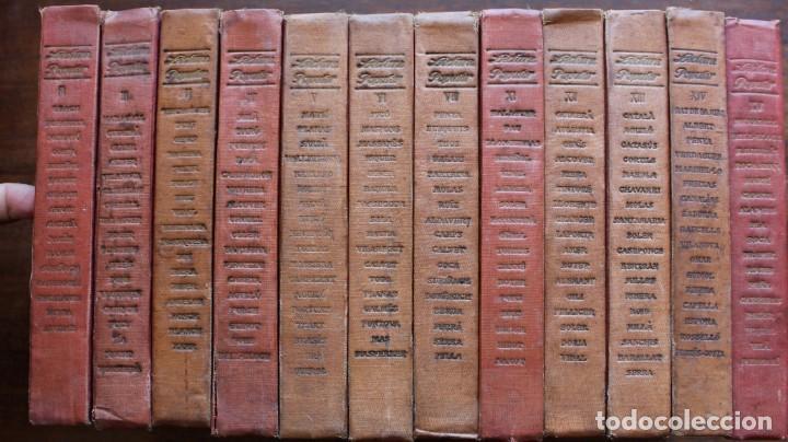 LECTURA POPULAR- BIBLIOTECA D'AUTORS CATALANS- 12 VOL- 1913 (Libros Antiguos, Raros y Curiosos - Literatura - Otros)