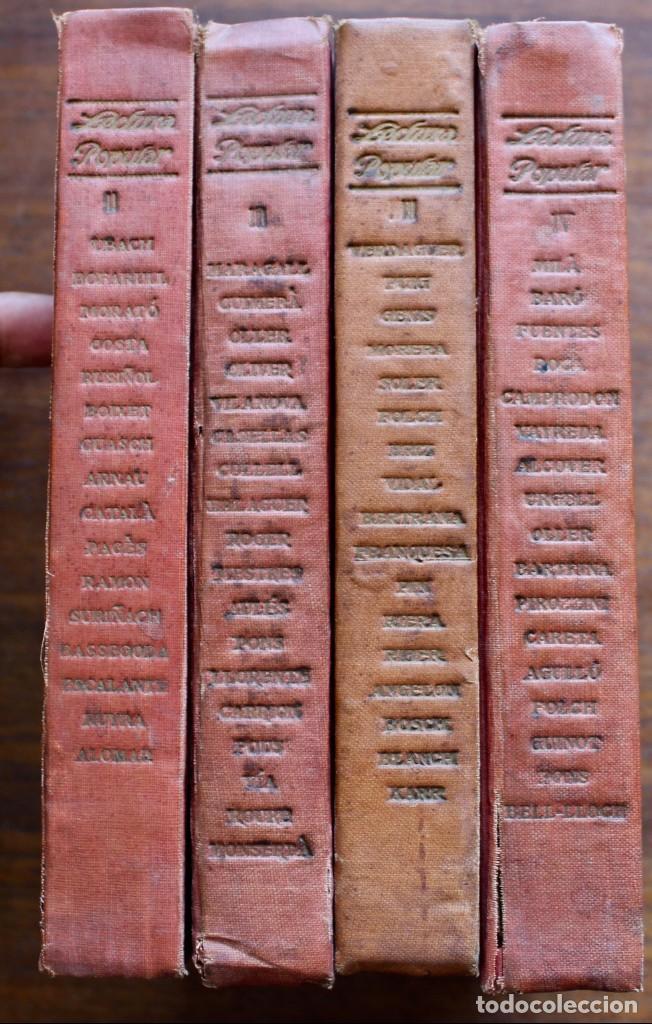 Libros antiguos: LECTURA POPULAR- BIBLIOTECA D'AUTORS CATALANS- 12 VOL- 1913 - Foto 2 - 150960538