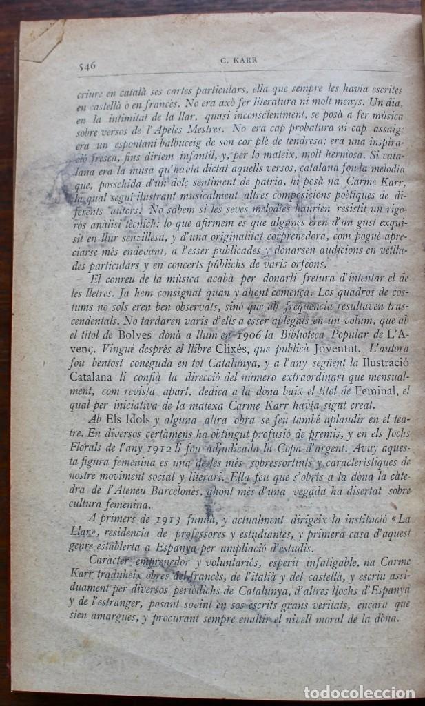 Libros antiguos: LECTURA POPULAR- BIBLIOTECA D'AUTORS CATALANS- 12 VOL- 1913 - Foto 16 - 150960538