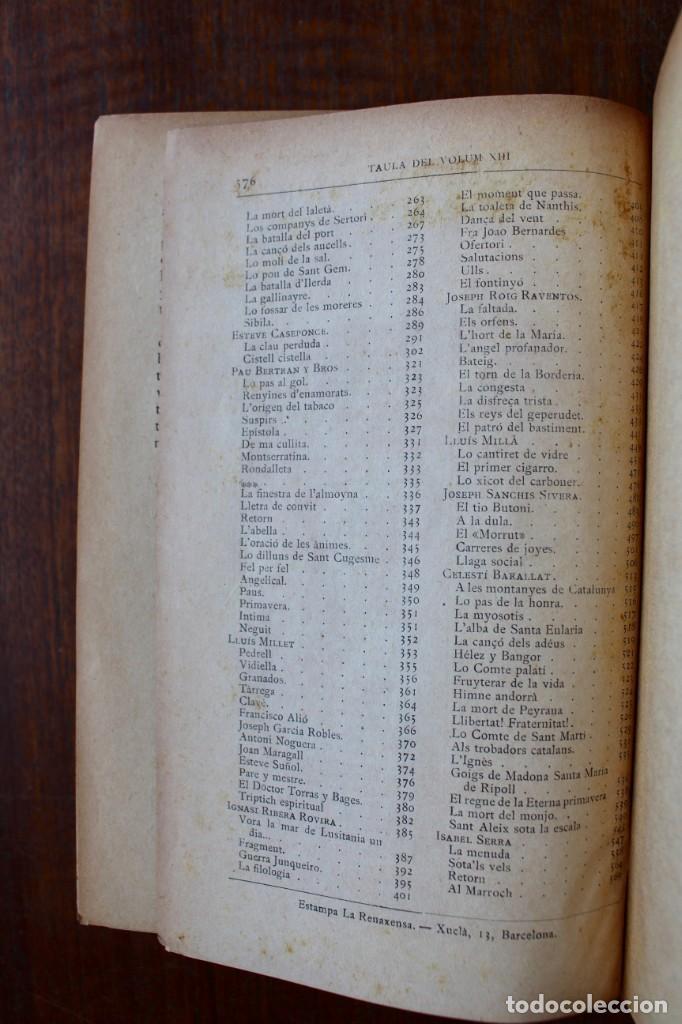 Libros antiguos: LECTURA POPULAR- BIBLIOTECA D'AUTORS CATALANS- 12 VOL- 1913 - Foto 43 - 150960538