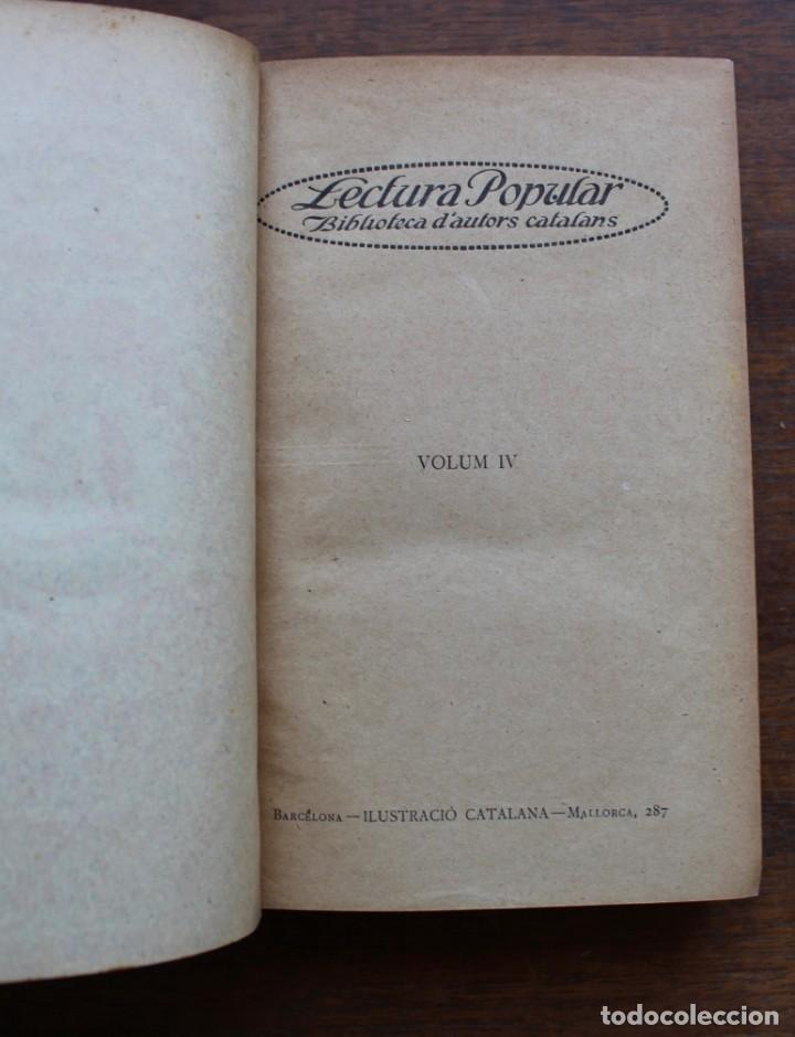 Libros antiguos: LECTURA POPULAR- BIBLIOTECA D'AUTORS CATALANS- 12 VOL- 1913 - Foto 21 - 150960538