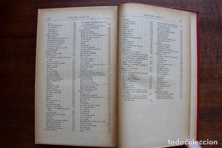 Libros antiguos: LECTURA POPULAR- BIBLIOTECA D'AUTORS CATALANS- 12 VOL- 1913 - Foto 24 - 150960538