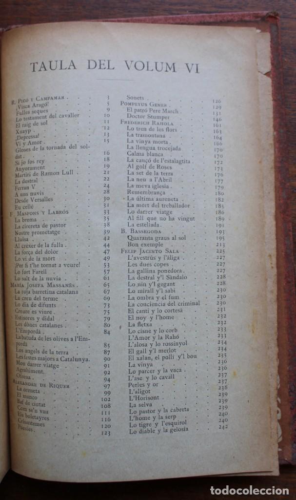 Libros antiguos: LECTURA POPULAR- BIBLIOTECA D'AUTORS CATALANS- 12 VOL- 1913 - Foto 30 - 150960538