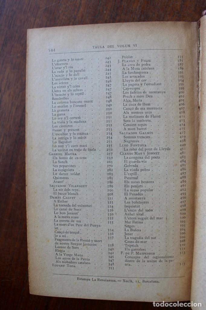 Libros antiguos: LECTURA POPULAR- BIBLIOTECA D'AUTORS CATALANS- 12 VOL- 1913 - Foto 31 - 150960538
