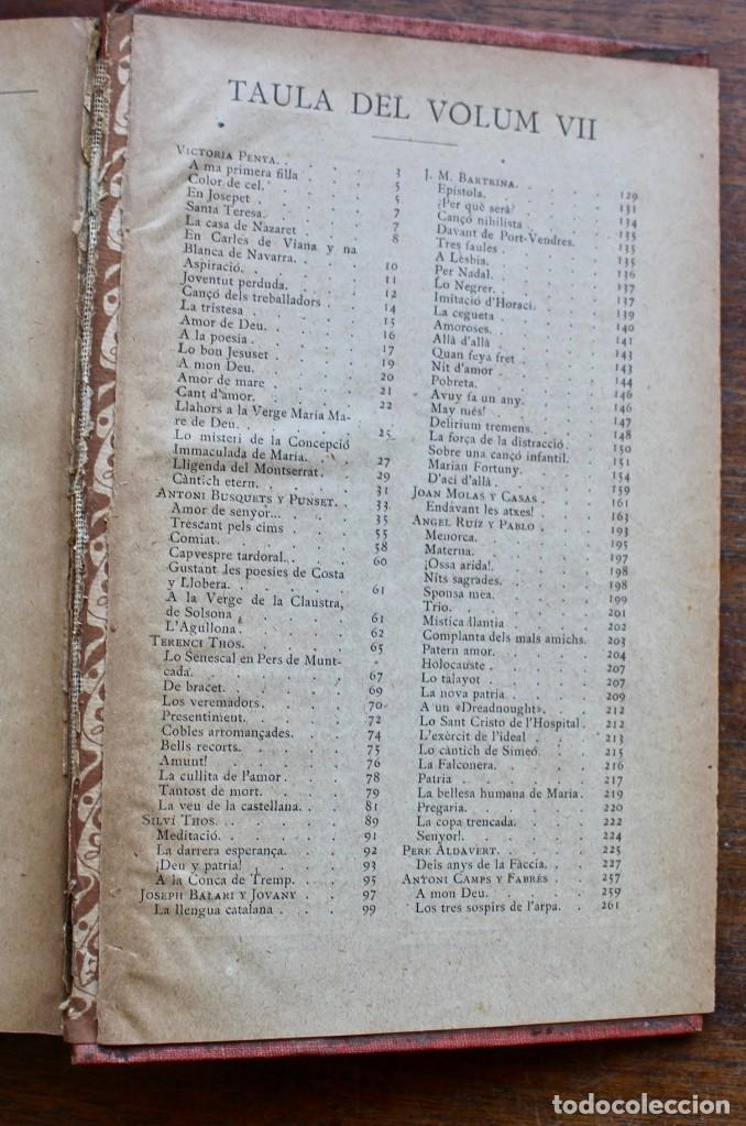 Libros antiguos: LECTURA POPULAR- BIBLIOTECA D'AUTORS CATALANS- 12 VOL- 1913 - Foto 34 - 150960538