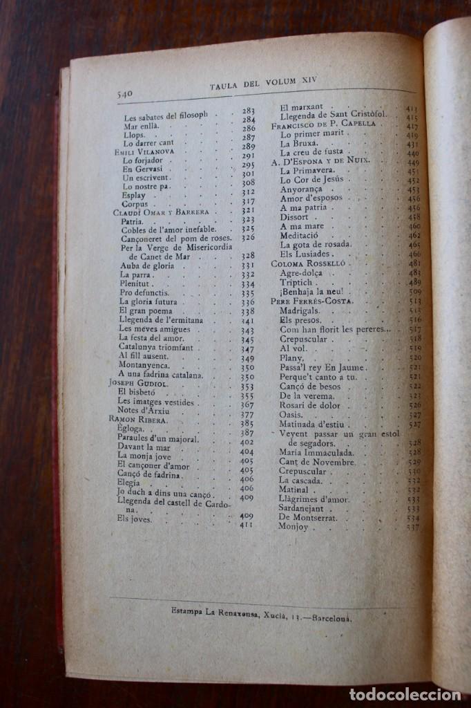 Libros antiguos: LECTURA POPULAR- BIBLIOTECA D'AUTORS CATALANS- 12 VOL- 1913 - Foto 46 - 150960538