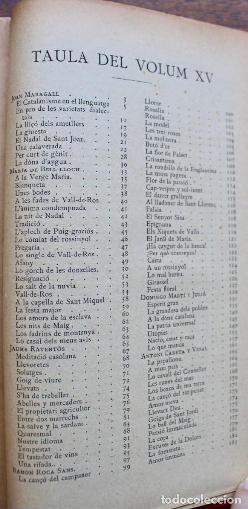 Libros antiguos: LECTURA POPULAR- BIBLIOTECA D'AUTORS CATALANS- 12 VOL- 1913 - Foto 47 - 150960538