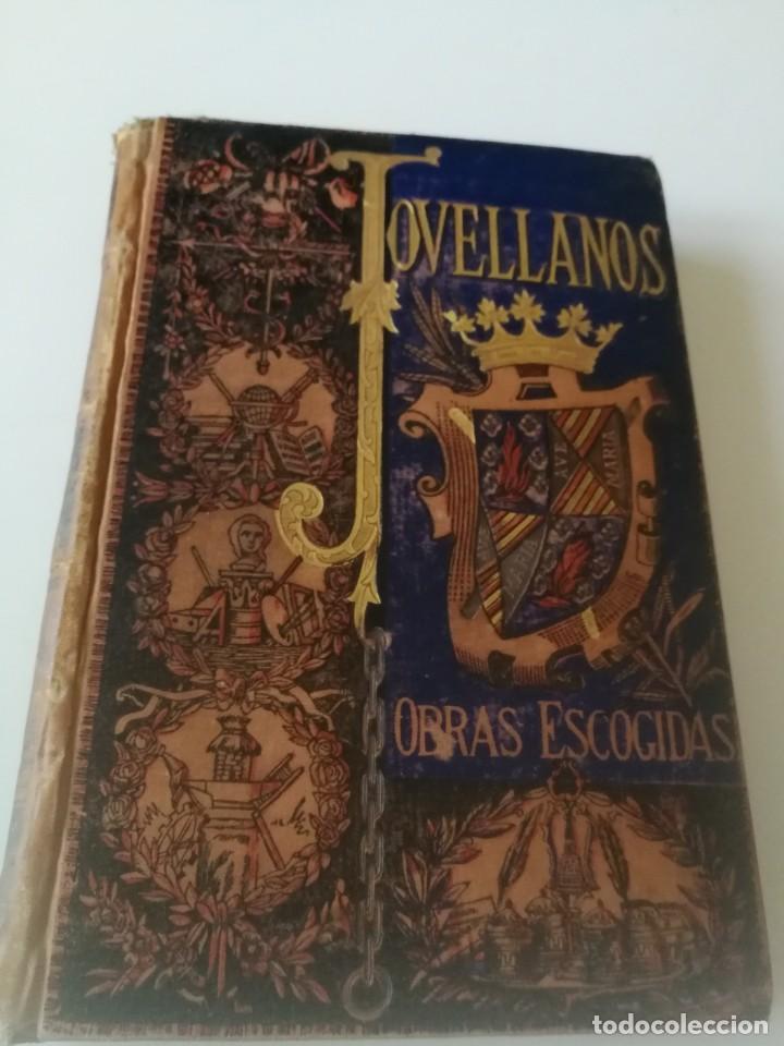 COLECCION DE OBRAS ESCOGIDAS JOVELLANOS AÑO1884, ILUSTRACIONES TOMÁS SALA(VER DESCRIPCIÓN) (Libros Antiguos, Raros y Curiosos - Literatura - Otros)