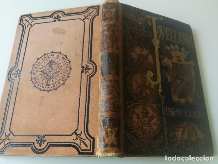 Libros antiguos: COLECCION DE OBRAS ESCOGIDAS JOVELLANOS AÑO1884, Ilustraciones Tomás Sala(ver descripción) - Foto 2 - 150983782