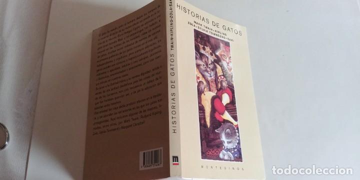 Libros antiguos: Historias de gatos-montesinos-180 paginas-año 1998-nuevo- - Foto 2 - 151059010