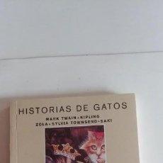 Libros antiguos: HISTORIAS DE GATOS-MONTESINOS-180 PAGINAS-AÑO 1998-NUEVO-. Lote 151059010