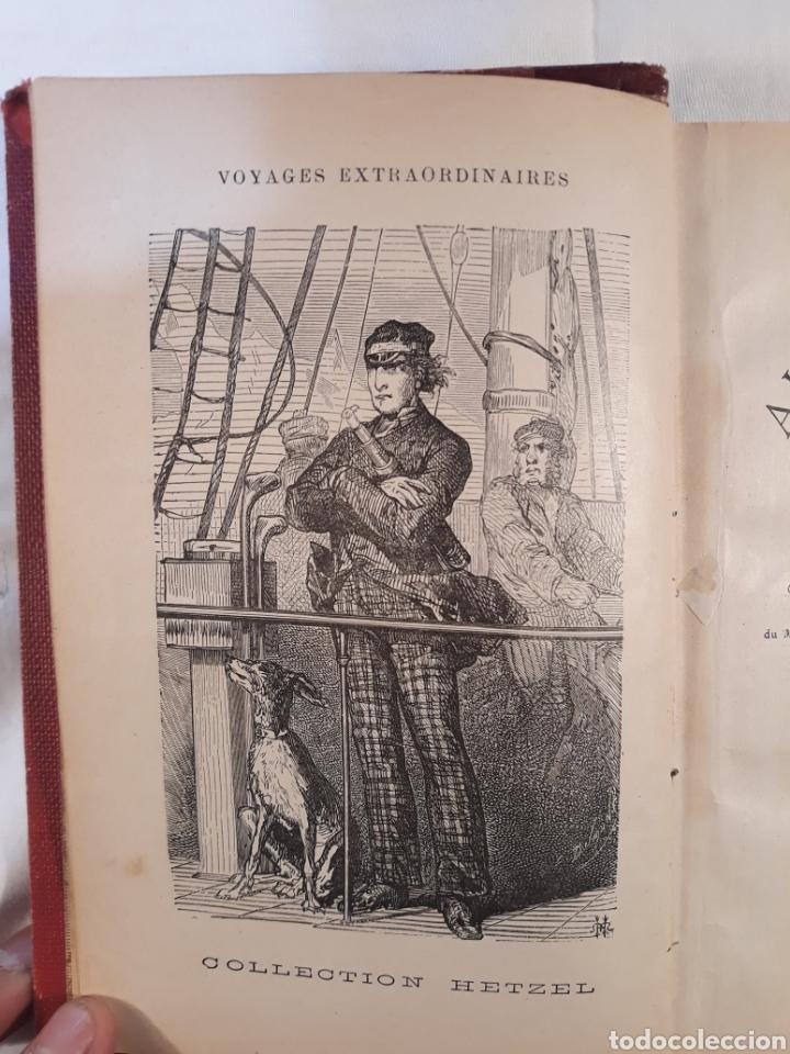 Libros antiguos: Jules verne,Les Anglais au Pple Nord.aventures du capitaine Hatteras. - Foto 4 - 151068570