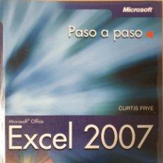 Libros antiguos: MICROSOFT EXCEL 2007. EDITORIAL ANAYA. Lote 151076998