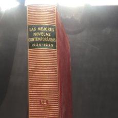 Libros antiguos: LAS MEJORES NOVELAS CONTEMPORÁNEAS 1925-1929. Lote 151091064