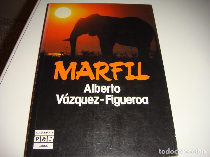 ALBERTO VAZQUEZ FIGUEROA: MARFIL (Libros antiguos (hasta 1936), raros y curiosos - Literatura - Narrativa - Otros)