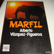 Libros antiguos: ALBERTO VAZQUEZ FIGUEROA: MARFIL. Lote 151099194