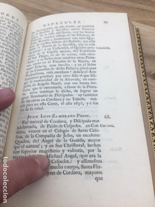 Libros antiguos: Palomino Castro.Las vidas de los pintores y estatuarios. Londres 1744. Enc Brugalla libro antiguo - Foto 5 - 40564725