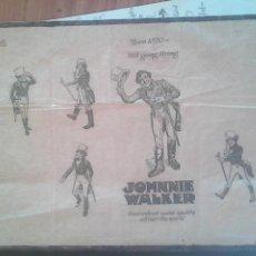 Libros antiguos: JOHNNIE WALKER. 1820.. Lote 151206894