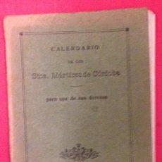 Libros antiguos: CALENDARIO DE LOS SANTOS MARTIRES DE CORDOBA 1924. Lote 151288962