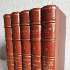 Libros antiguos: ALBERT CIM.- LE LIVRE (5 VOLS.). Lote 151302914
