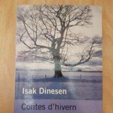 Libros antiguos: CONTES D'HIVERN - ISAK DINESEN. Lote 151357494