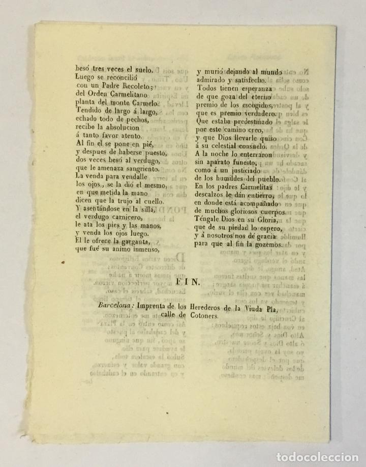 Libros antiguos: SIETE ROMANCES DE LA MUERTE DE DON RODRIGO CALDERON, MARQUES DE SIETE IGLESIAS. - Foto 2 - 123153275