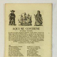 Libros antiguos: AQUI SE CONTIENE UN DULCE TRATADO, DE COMO UNA MUJER NATURAL DE VALLADOLID, SIENDO CAUTIVA CUANDO.... Lote 123244428