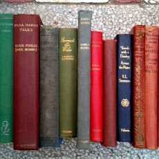 Libros antiguos: COLLECTION 18 ANTIQUE / VINTAGE HARDCOVER BOOKS - TITLES ON PHOTOS. Lote 151469125