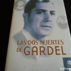 Libros antiguos: LAS DOS MUERTES DE GARDEL . HORACIO VAZQUEZ RIAL 1º ED. 2001. Lote 151481214