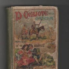 Libros antiguos: DON QUIJOTE DE LA MANCHA-PARA USOS DE LOS NIÑOS-AÑO 1925. Lote 151501334