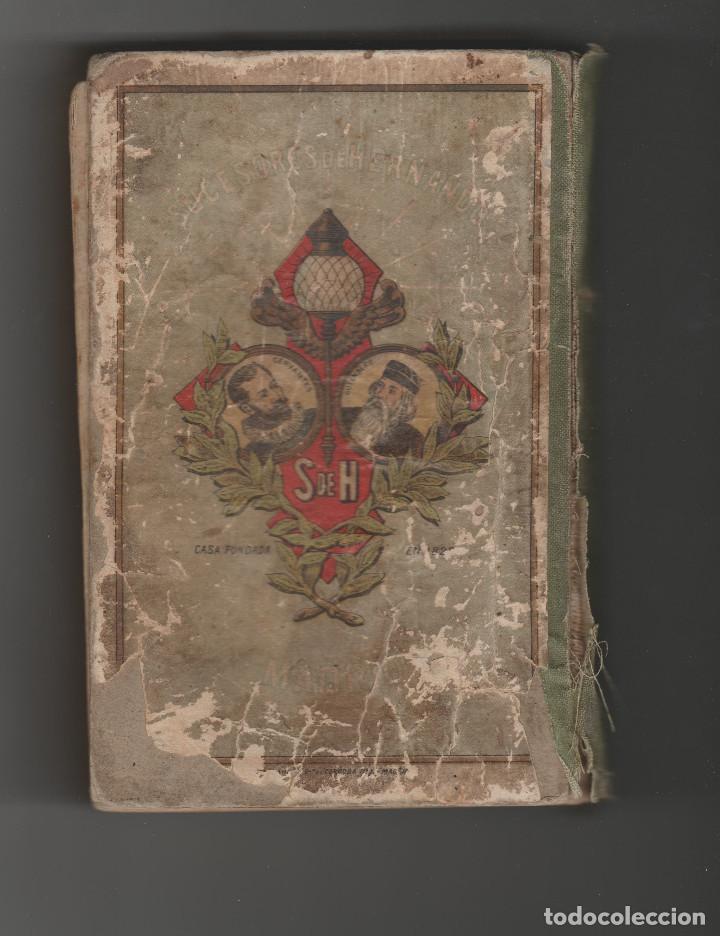 Libros antiguos: DON QUIJOTE DE LA MANCHA-PARA USOS DE LOS NIÑOS-AÑO 1925 - Foto 2 - 151501334