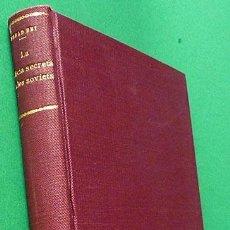 Libros antiguos: LA POLICÍA SECRETA DE LOS SOVIETS (1917-1933) - ESSAD BEY - ESPASA CALPE - 1935 - NUEVO - VER INDICE. Lote 151530054