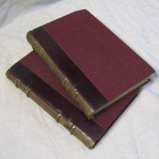 Libros antiguos: LOURDES, DE EMILIO ZOLA. 1896. DOS TOMOS, ED. MAUCCI. Lote 151534366
