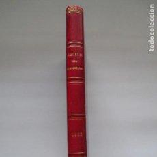 Libros antiguos: LIBRO DE MODA DE 1882 - JOURNAL DES DEMOISELLES - 18 GRABADOS. Lote 151543422
