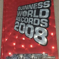 Libros antiguos: GUINNESS WORLD RECORDS 2008. Lote 151552630