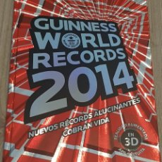 Libros antiguos: GUINNESS WORLD RECORDS 2014. Lote 151553114