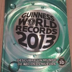 Libros antiguos: GUINNESS WORLD RECORDS 2013. Lote 151602086
