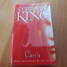 Libros antiguos: STEPHEN KING-CARRIE-INGLES-253 PAGINAS--TAPA FINA. . Lote 151628798