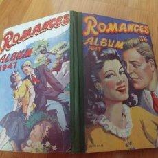 Libros antiguos: ROMANCES ALBUM 1947-ESCRITO EN INGLES-TAPA DURA-127 PAGINAS-. Lote 151630846