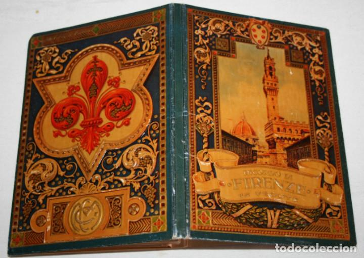 ANTIGUO LIBRETO CON 32 HOJAS DE FOTOS DE FLORENCIA CON DESCRIPCION DETRAS, 7 DE UNA PANORAMICA (Libros Antiguos, Raros y Curiosos - Historia - Otros)