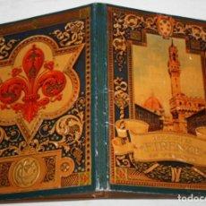 Libros antiguos: ANTIGUO LIBRETO CON 32 HOJAS DE FOTOS DE FLORENCIA CON DESCRIPCION DETRAS, 7 DE UNA PANORAMICA. Lote 151656862